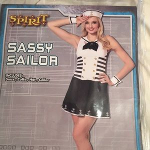 SEXY SAILOR HALLOWEEN COSTUME!!